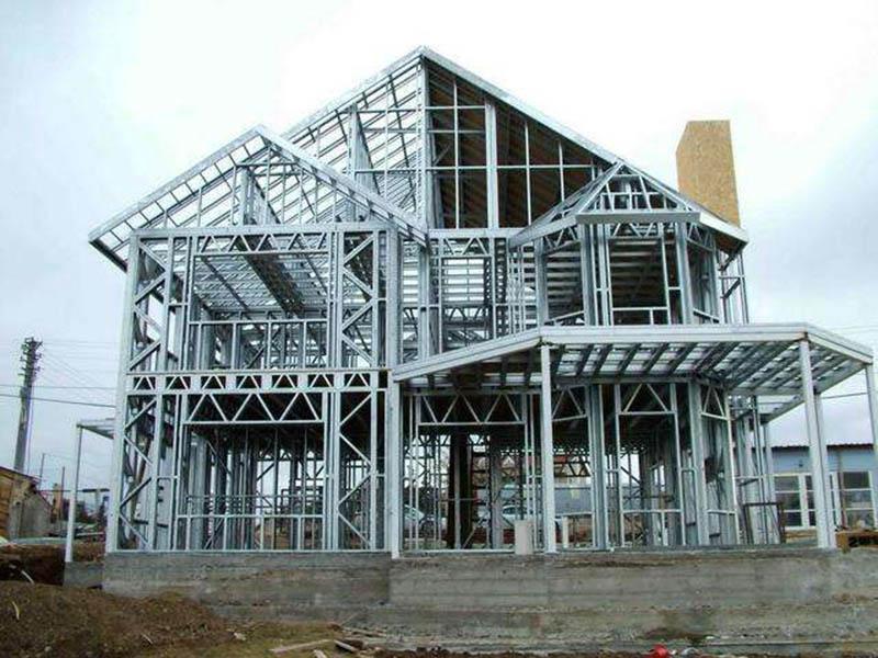 天水彩钢瓦-钢结构别墅