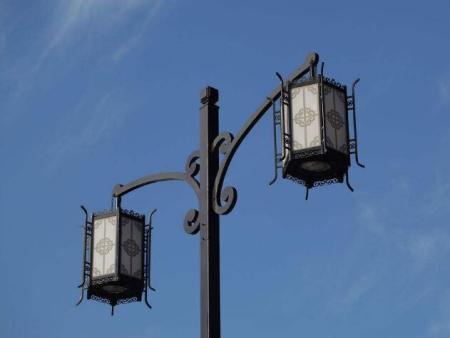 中式仿古路灯