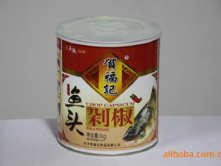 蒸鱼头专用剁椒 贺福记