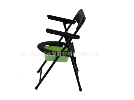喷塑折叠betway必威登陆网址靠背坐便椅