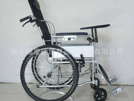 喷塑高靠背半躺全躺轮椅