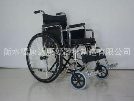 电镀双翻轮椅