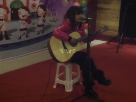 现代音符 学员邱文 吉他弹唱 柠檬树