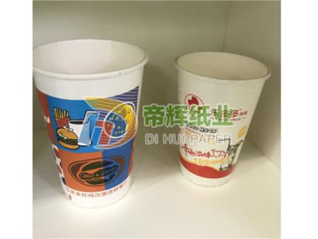 不同形式的纸杯其加工方式不一样