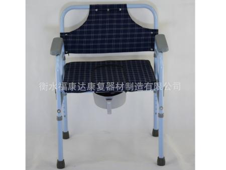 喷塑折叠软面坐便椅