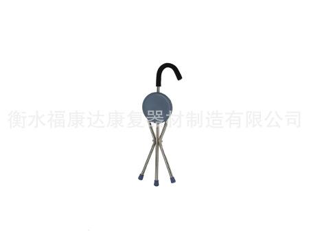不锈钢叠椅式手杖