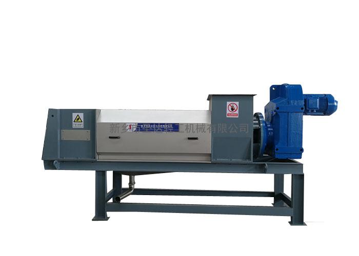 螺旋挤干机在造纸厂废塑料渣挤干脱水中的应用|产品知识-新乡圣达轻工机械有限公司