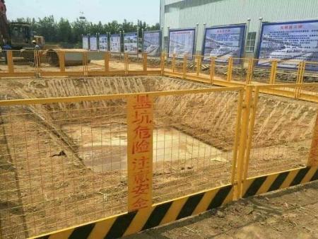 南宁市五象新区基坑临边防护栏项目