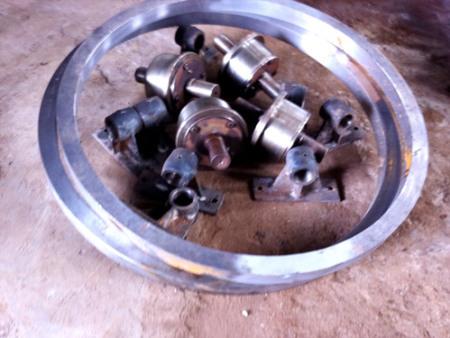 大齿轮厂家浅聊辨别回转窑筒体是否需更换要素