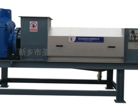 螺旋压榨机在活性炭废渣减排中的应用