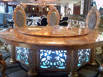 兰州电动餐桌椅