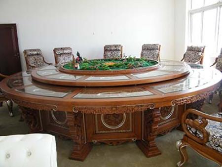 【兰州电动餐桌椅】富贵为您分享酒店实木电动餐桌的维护知识