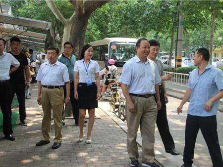 聊城规划局局长来临沂走访和学习