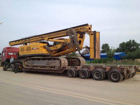 工程施工设备搬家转场运输及分类