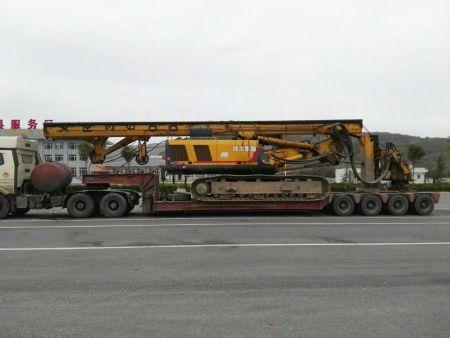 旋挖钻运输丨挖土机运输丨履带机械打桩机运输