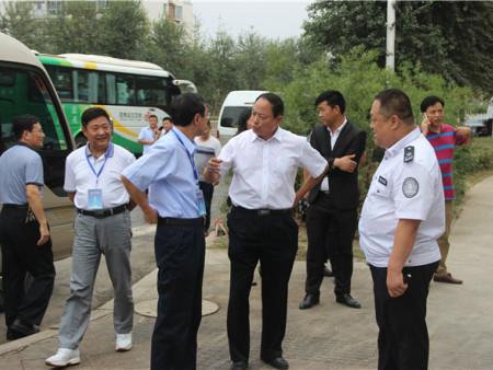 全省城市管理各级领导莅临易胜博(最新)官网