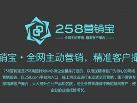 邯郸258营销宝总代理