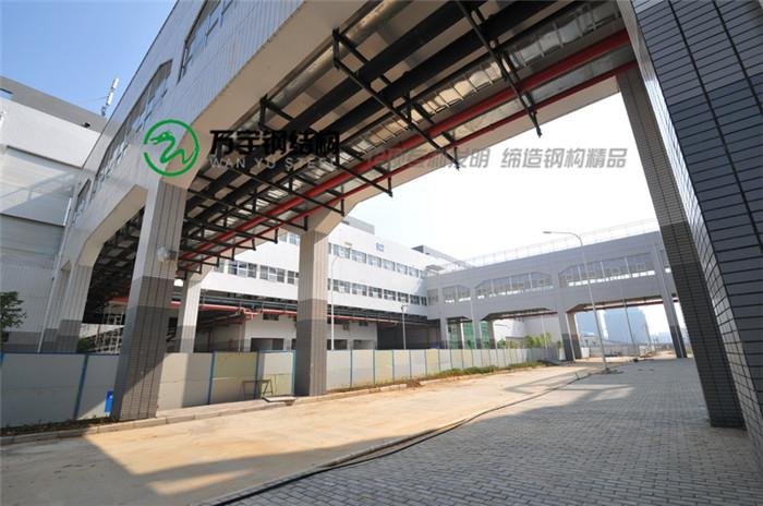 厂房钢结构连廊