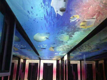 海底世界施工案例