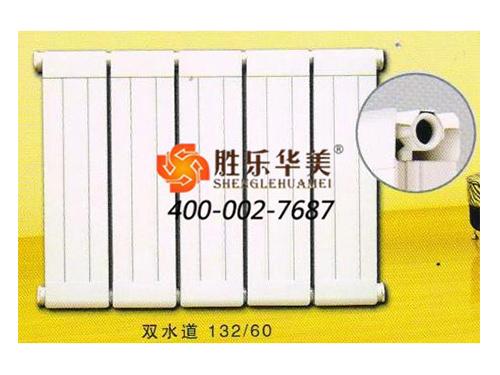 雙水道132-60鋼鋁復合散熱器