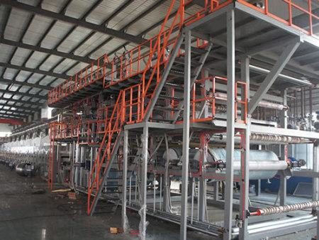 PVC多层复合网带发泡炉   PVC multilayer foaming oven with conveyer