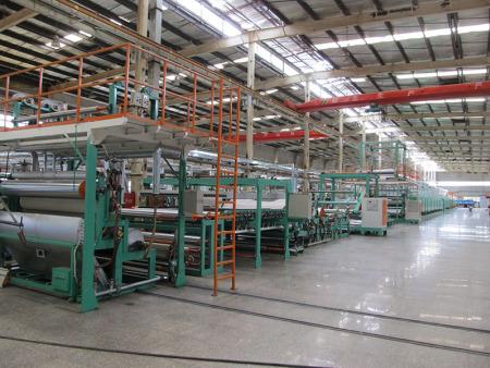 PVC运动地板成套生产设备  Plant for pvc sport floor