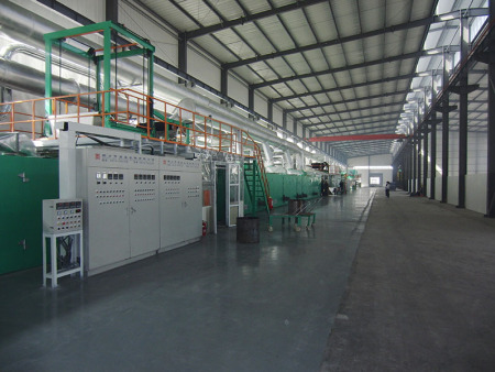 PU/PVC人造革干法线  Coating plant for PU/PVC synthetic leather