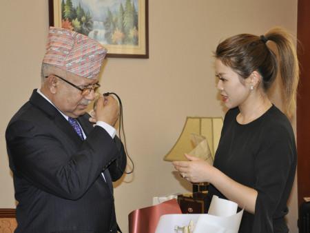 尼泊尔前总理、世界佛教中心主席马达夫·库马尔·尼帕尔访问西安     —— 天行健健康产业集团董事局主席刘志明会见前总理|企业新闻-陕西天行健生物工程股份有限公司