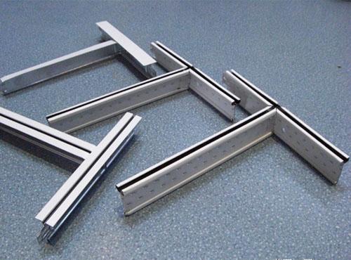 T形铝合金龙骨轻质板吊顶构造做法及材料