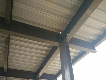 冶力关钢结构二层工程