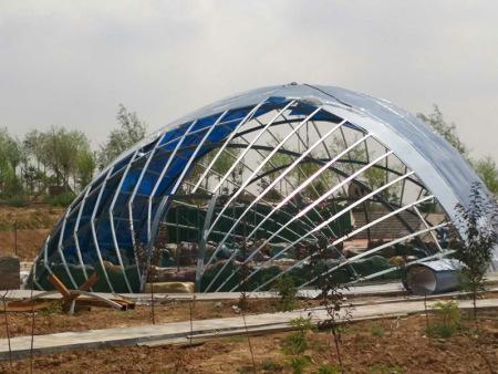 兰州新区梅园生态园