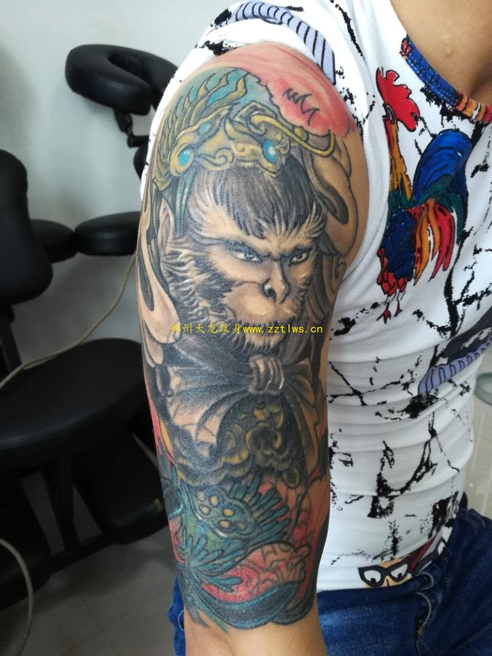 鄭州紋身公司分析為什么紋身部位會發紅?