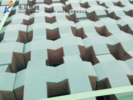 砖机生产成品
