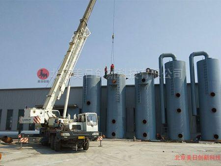 瀝青混合料攪拌設備瀝青煙氣處理技術探析