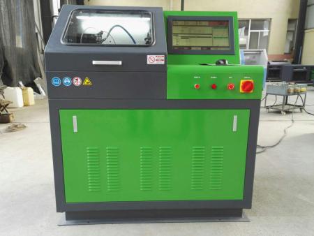 精達動力高壓共軌試驗臺如何測試噴油器壓力