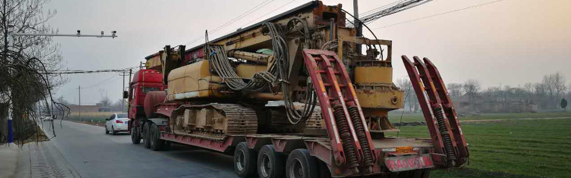 钻机挖掘机运输13892860095