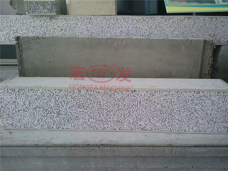 新型轻质水泥发泡隔墙板