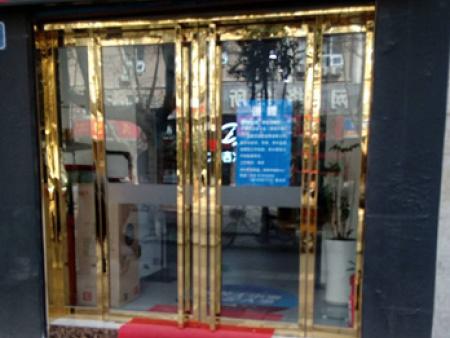 西安玻璃门定制