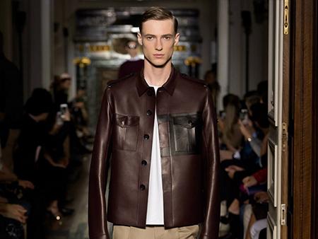 最新时尚冬季男装街拍 来自2018秋冬米兰时装周