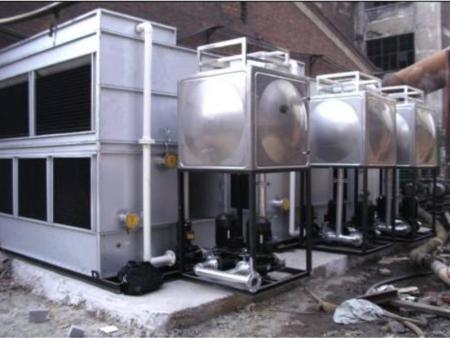 漳州圆形玻璃钢冷却塔工业冷水塔50T250吨