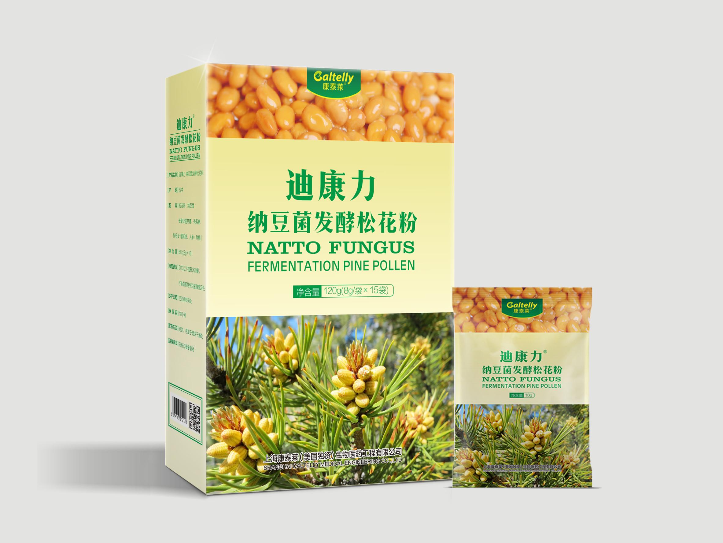 迪康力 · 纳豆菌发酵松花粉