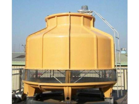 莆田圆形玻璃钢冷却塔工业冷水塔25T15吨