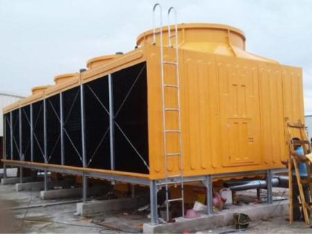 福州圆形玻璃钢冷却塔工业冷水塔15T10吨