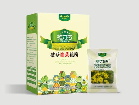 雄力态 · 破壁油菜花粉