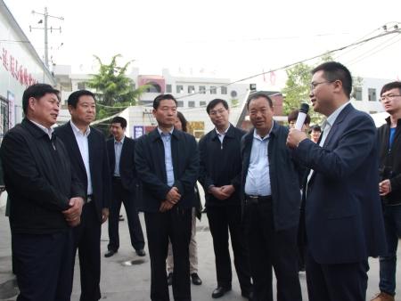 陕西省教育厅原厅长李兴旺视察