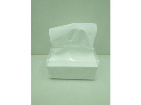 纸巾自动包白膜