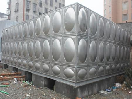 格力集團安裝我司不銹鋼水箱案例