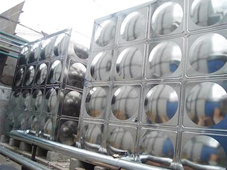 三星電子公司保溫水箱安裝案例
