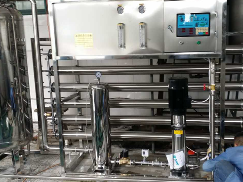 纯净水设备的防腐工作