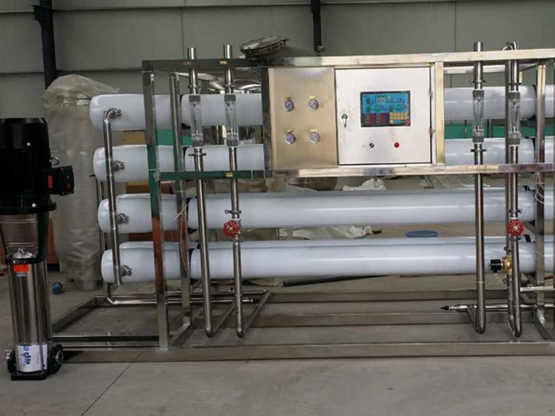 10吨/小时双级纯净水设备